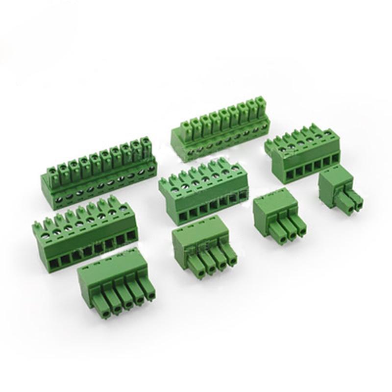 10 шт. PCB разъем в печатной платы клеммный блок серии 3.81 мм 15EDG-2/3/4/5 /6/7/8/9/10 P характеристики