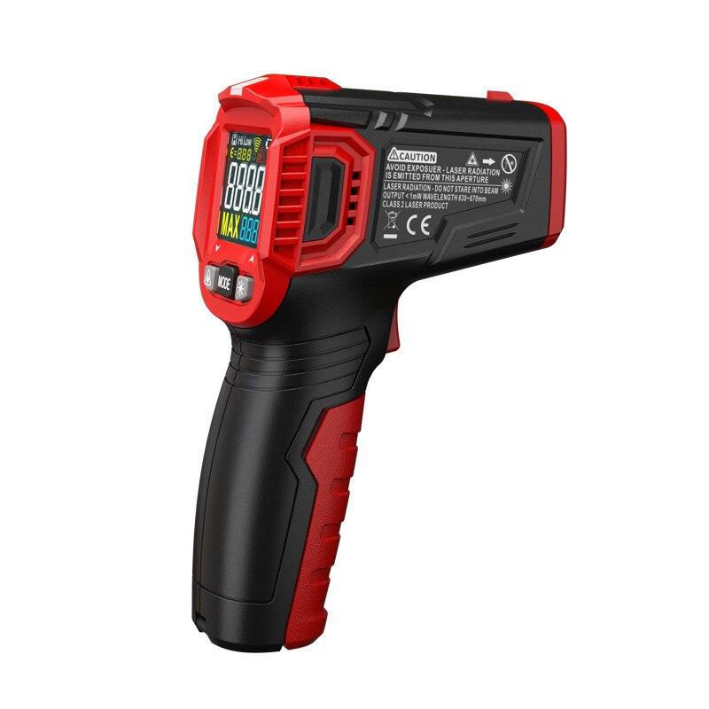 Digital Display Thermometer Humidity Meter Infrared Hygrometer Temperature Pyrometer MDJ998