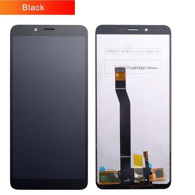 "5.45 ""AAA איכות IPS LCD + מסגרת עבור Xiaomi Redmi 6 LCD תצוגת החלפת מסך עבור Redmi 6A LCD הרכבה 1440*720 רזולוציה"