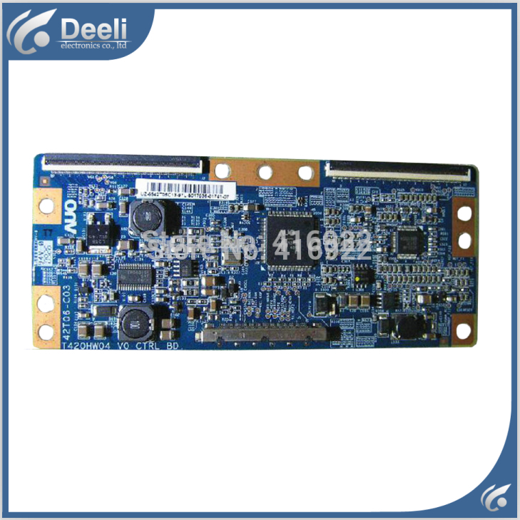 100% New original for T420HW04 V0 CTRL BD 42T06-C03 T-CON FOR T420HW04 V.0 Logic board on sale 100% new original for board t315hw01 v0 31t05 c02 auo logic board on sale