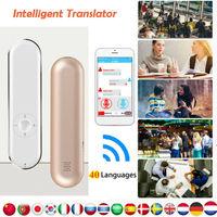 40 Languages Smart Voice Translator Portable Two-Way Real Time Translation Learning Travelling Business Meet Translator