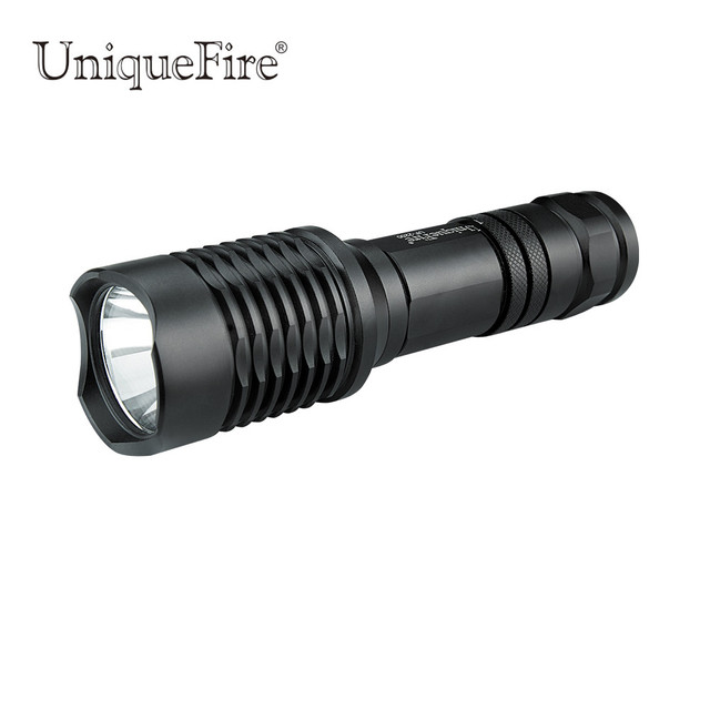 UniqueFire 2200  U2 Led Flashlight 5Modes Glass Lens 1200LM Super Bright Powerful Flashlight Torch For Hunting, Camping