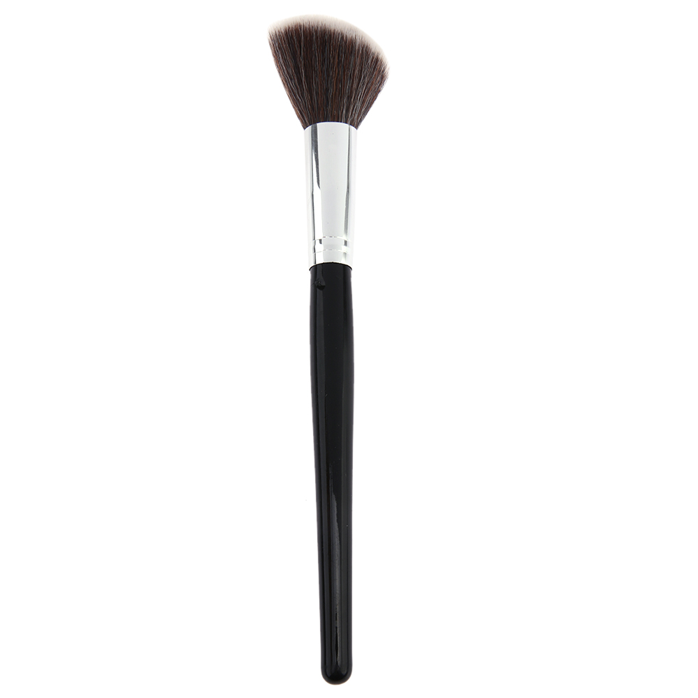 Oblique Head Nylon Makeup Brush Face Cheek Contour Cosmetic Powder Foundation Blush Brush Angled Make up Tool new design stamp seal shape face makeup brush foundation powder blush contour brush cosmetic facial brush cosmetic makeup tool