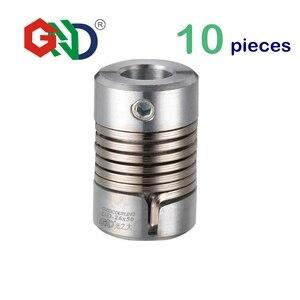 Пружинный зажим для энкодера, гибкий, 8 мм, 10 шт., пружинный зажим для 3D печати, соединение с микро-мотором с ЧПУ, без челюстей