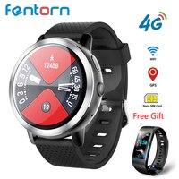LEM8 4G Смарт часы Для мужчин Android 7.1.1 2 GB + 16 ГБ с gps 2MP Камера 1,39 дюйма AMOLED Экран 580 мАч аккумулятор для умных часов Для женщин