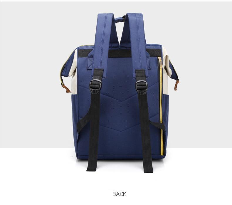 HTB1Nu17XwmH3KVjSZKzq6z2OXXan Multi-Function Mummy Maternity Nappy Bag Fashion Patchwork Large Capacity Baby Bag Travel Backpack Nursing Bag for Mom Designer