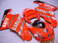 Injection molding brand new bodywork fairing kit for Ducati red black 749 999 2003 2004 fairings set 749 999 03 04 HR39