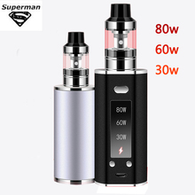 New Product 80W Vape Kit Built in 2200mAh Battery With LED Display High Quality Electronic Cigarette.jpg 220x220 - Vapes, mods and electronic cigaretes