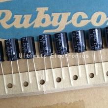 10 шт. 470 мкФ 25 В Rubycon ZL серии 10×16 мм низкое сопротивление высокая пульсации 25V470uF конденсатор