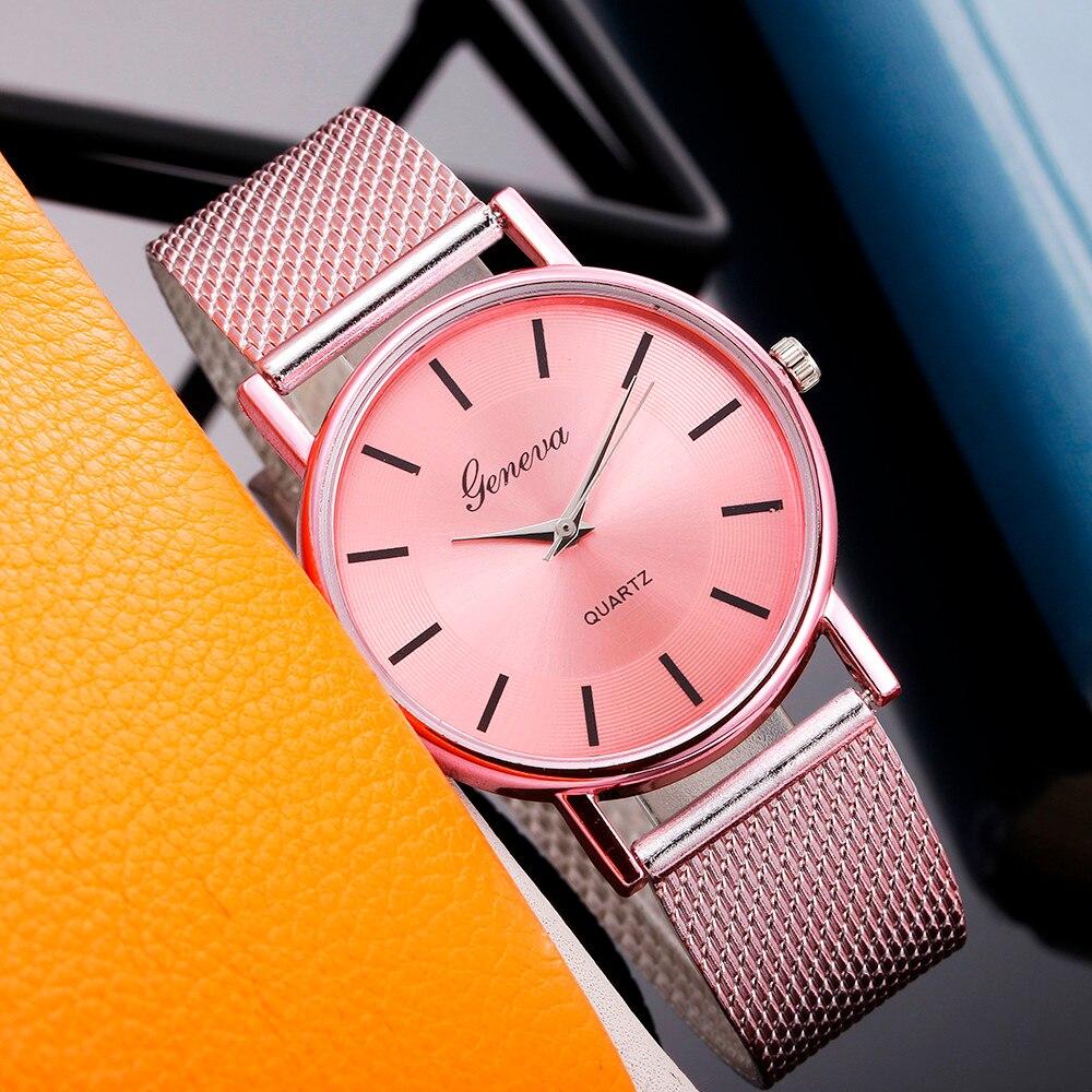 Woman's Watch Quartz High-end Blue Glass Distinguished Watches Female Clock Relogios Femininos 2019 Bayan Kol Saati