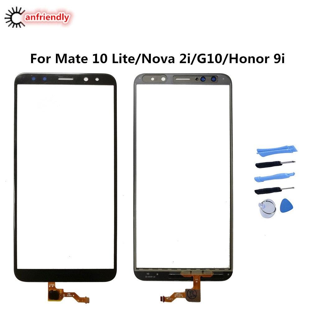 Para Huawei Mate 10 Lite/Nova 2i/G10/Honor 9i me L01 L02 L03 L21 L22 L23 AL00 reemplazo de la pantalla táctil del teléfono accesorios Panel
