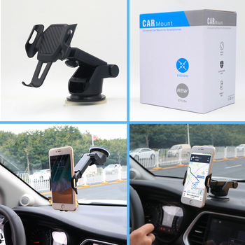 suporte celular carro Windshield Universal Car Phone Holder soporte auto Mobile Car Holder Cell Phone support smartphone voiture 1