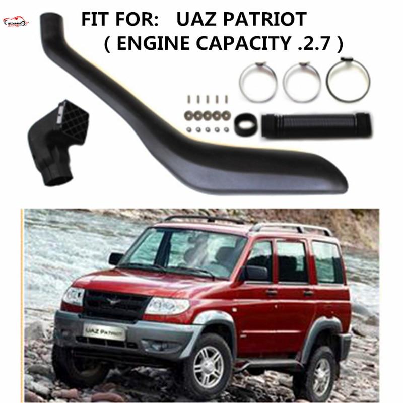 CITYCARAUTO SNOKEL KIT Air Intake LLDPE Snorkel Kit FIT FOR UAZ PATRIOT.ENGINE CAPACITY  2.7