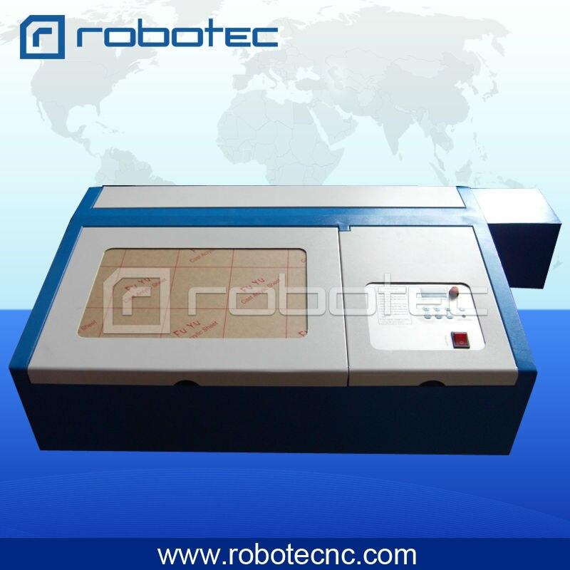 ROBOTEC 200x300 CO2 Mini Laser Engraving Cutter Machine Price For Sale измерительный прибор laser target 150 200 300 300 300