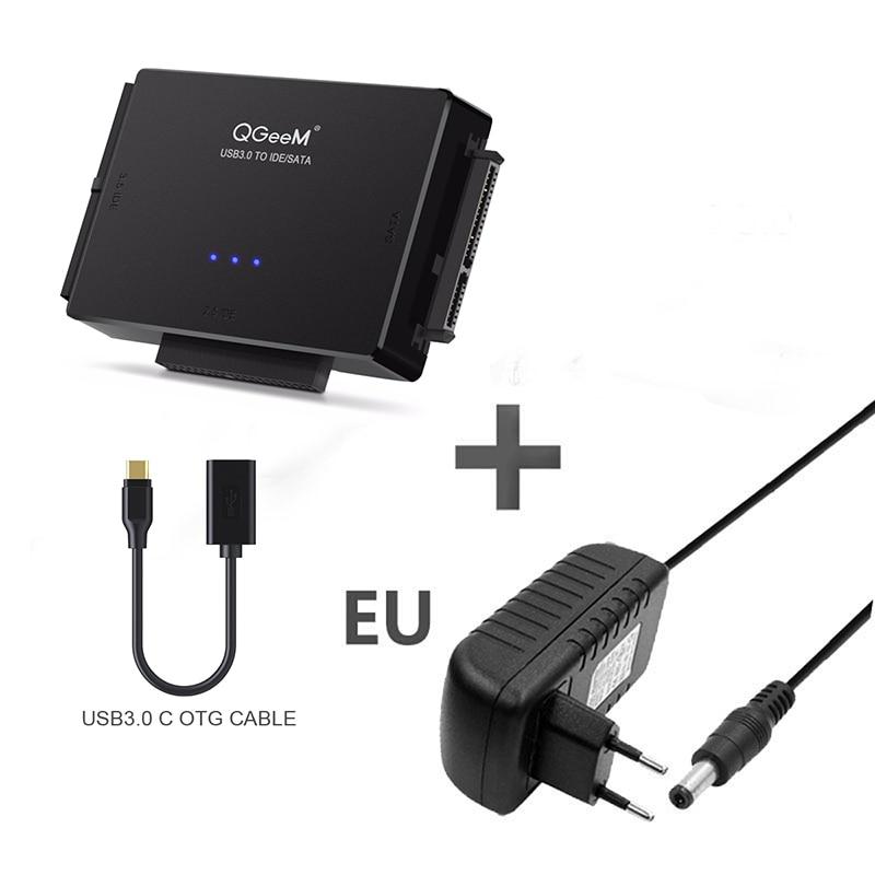 USB 2.0 to IDE SATA S-ATA 2.5 3.5 HD HDD Hard Drive Adapter Converter Cable HM2