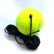 Enkel pakket Boor Tennis Trainer Tennis Tool Rubber Wollen Training Tennis Accessoires ballen Entertainment gratis verzending