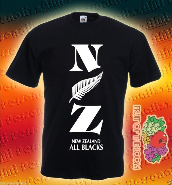 45c4cd74eabf55 T-SHIRT NEW ZELAND RUGBY SPORT Cool Casual pride t shirt men Unisex New  Fashion tshirt Loose Size top ajax 2018 funny t shirts
