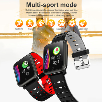 COLMI CP11 Smart Watch IP68 Waterproof Heart Rate Monitor Fitness tracker Men Swimming Smartwatch for iPhone Android phone 1