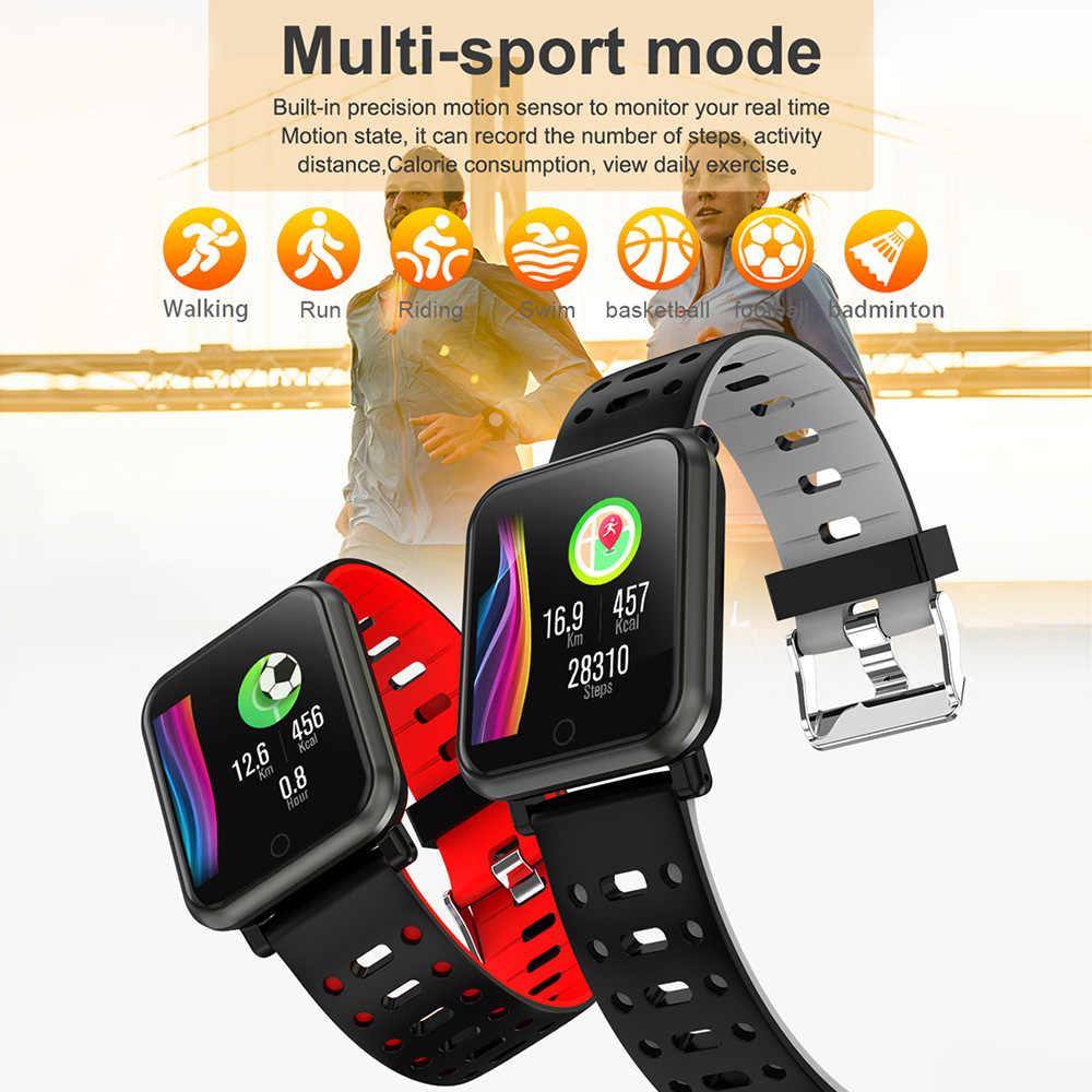 COLMI CP11 スマート腕時計 IP68 防水心拍数モニターフィットネストラッカー男性水泳スマートウォッチ iphone アンドロイド電話用