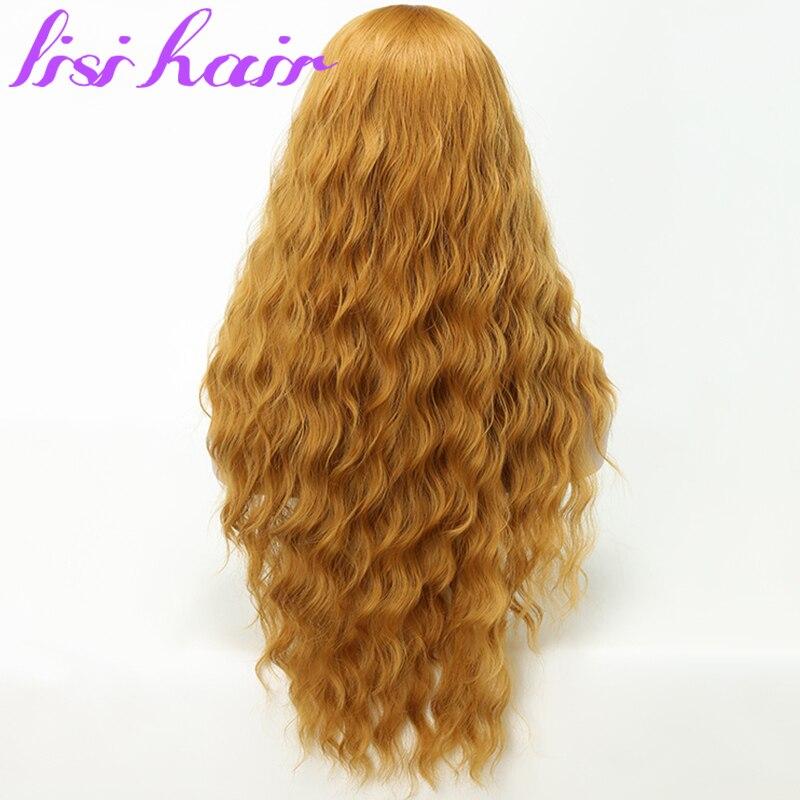 Lisi hair peruca de cabelo sintético, peruca
