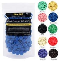 100g Purple Lavender Removal Cream Color No Strip Depilatory Hot Film Hard Brazilian Wax Pellet