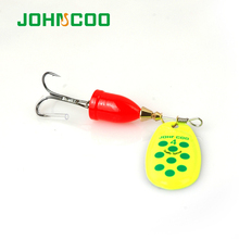 Hot Sale 6pcsSpinner Metal Spoon NO2-NO5 Fishing Lures Set Spinner Baits CrankBait Bass Tackle Hook Free Shipping