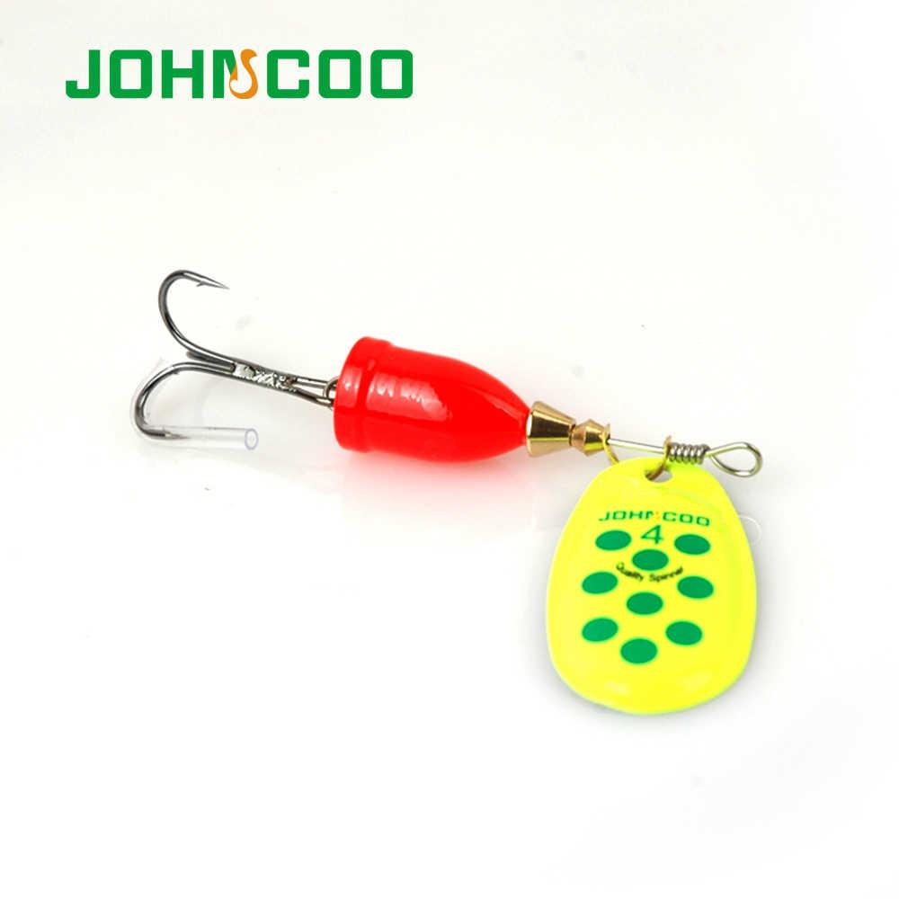 Offre spéciale leurre de pêche 6 pièces Spinner cuillère en métal NO2-NO5 leurres de pêche Set Spinner appâts