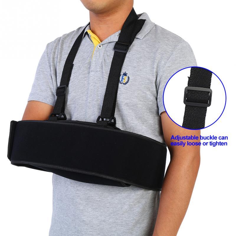 Arm Sling Shoulder Immobilizer Arm Support Brace Wrist Sprain Forearm Fracture Fixation Strap