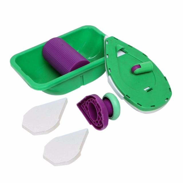 2018 New Brush Point Painting Roller Easy Pads Tray Set Multifunction Wall Tool Sponge Kit Household DIY Decorative Multi Paint Garden Tools