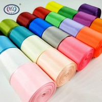 HL-cintas de grogrén de Color sólido, 5 yardas, 1-1/2