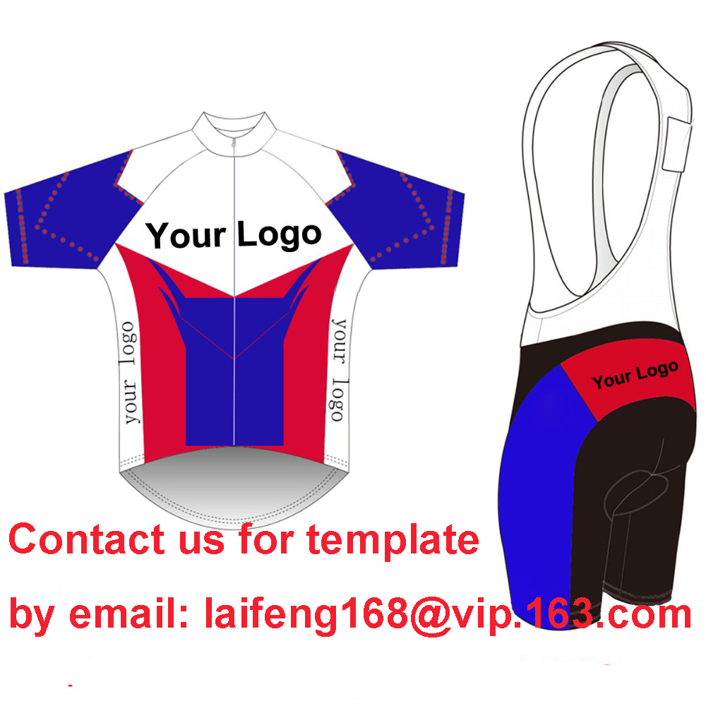 2017 Custom Cycling Jersey +BIB Shorts Summer Set DIY Bicycle Wear Polyester + LyCra Any Color Any Size Any Design Free shipping lastest design polyester dry fit oem soccer jersey any color stripes design purple free shipping full sublimation print