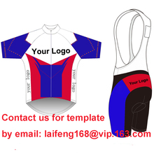 Custom Cycling Jersey And BIB Shorts Summer Set DIY Bicycle Wear Polyester + LyCra Any Color Any Size Any Design Free shipping