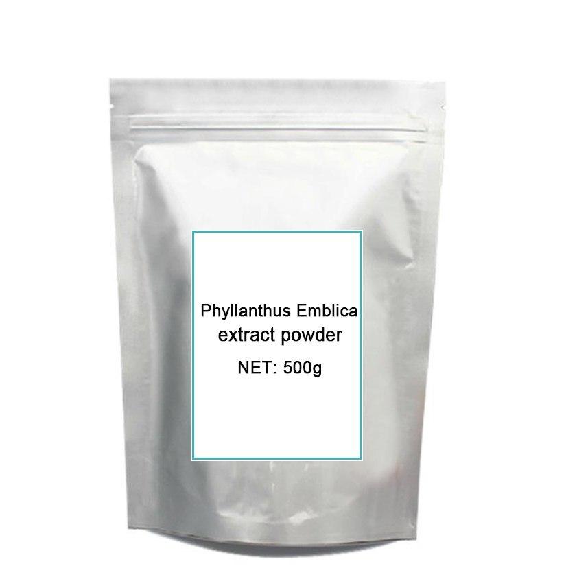 500g 100% Pure Natural Phyllanthus Emblica Extract Pow-der,Emblic Myrobalan,Amla,,Anti Cancer,Indian gooseberry 500g artichoke extract pow der antioxidan liver protection product