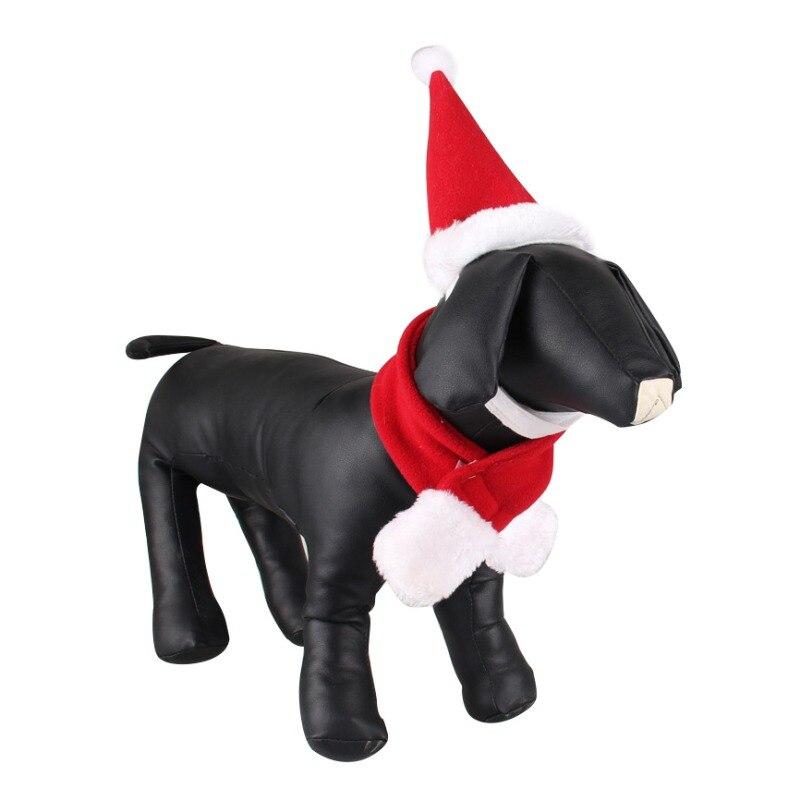 ჱNueva Navidad perro sombreros bufanda Sets invierno gorras para ...