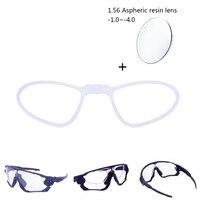 1.56 Aspheric Ống Kính Quang Học Khung Cận Thị Cho JBR Glasses Xe Đạp Bike Men Women Prescription Eyewear Sport Sunglasses Xe Đạp