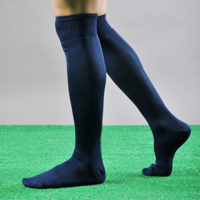Men Sport Football Soccer Long Socks Over Knee High Sock Baseball Hockey Sports Socks Breathable Outdoor Running Socks