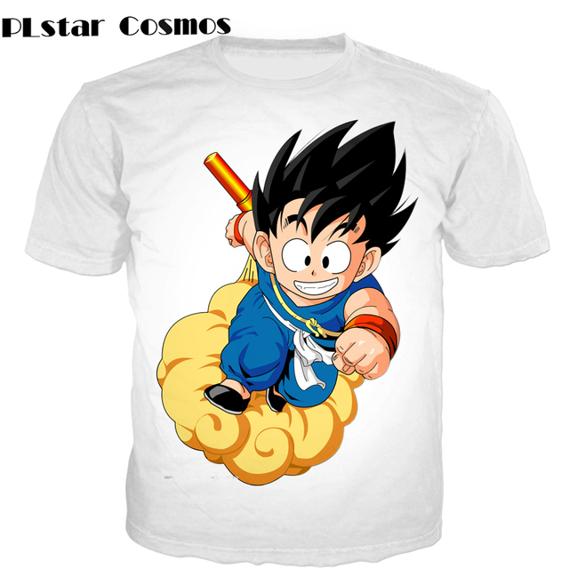 PLstar Cosmos Female Majin Buu T-Shirt 7 Dragon Ball Z Super Saiyan heroes 3d Print t shirt Buddha Kid buu tees Women Men 24