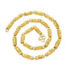 2018 Титан стали модная новинка горячая Распродажа цвет золотистый Цепочки и ожерелья для женщины ювелирные изделия Длинные Цепочки и ожерелья B1