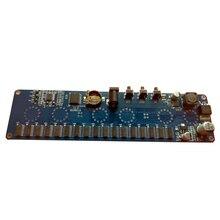 DIY sin tubo ex Unión Soviética en 14 reloj brillante tubo electrónico placa de circuito de reloj