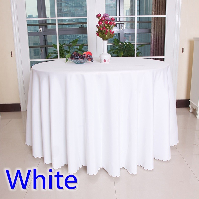 white-polyester-table-cloth-table-cover-for-wedding-hotel-and-restaurant-round-tables-decoration-200GSM-thick
