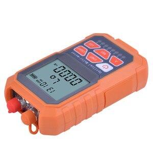 Image 5 - Handheld Mini Multifunction Optical Power Meter & 5MW Visual Fault Locator VFL Optical Laser Light Source with RJ45 Network test