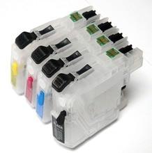 LC161 LC 161 запасной картридж для Brother DCP-J152W/J752DW/MFC-J245/470DW/650DW/J870DW с последним ARC чипов