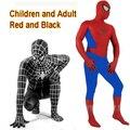 Amazing Spider Man Costume Adult Crianças Spandex Adulto Trajes Terno Roupas Cosplay Fantasia Trajes de Halloween Do Homem Aranha 3D
