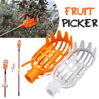 Greenhouse Plastic Fruit Picker Catcher Fruit Picking Tool Gardening Farm Garden Hardware Picking Device Garden Greenhouses Tool