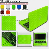 Personalit Pure Color ABC Sides Laptop Sticker Dustproof Skins Protective Decal Stickers For Lenovo M495S M4450S