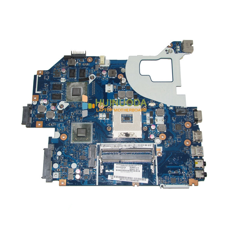 NOKOTION laptop mainboard For ACER AS V3-571G Intel Motherboard NBY1X11001 LA-7912P HM77 With NVDIA gt630m Video Card Tested