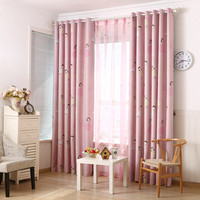 Eco Friendly Child Cartoon Curtain Window Curtain Baby Customize Finished Kids Curtain With Tulle For Children