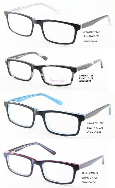 bad10eb880 Wholesale Kids Glasses Hand-made Full Rim Acetate Designer Glasses Frames  for Boys Girls Eyewear