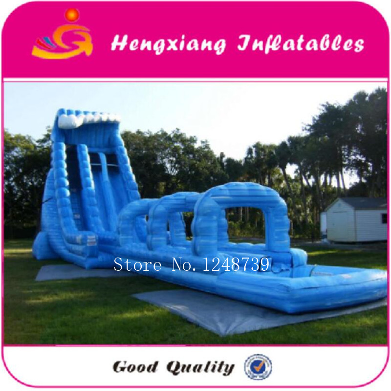 US $2612.5 5% OFF|Body splash giant inflatable water slide for adult used  swimming pool slide-in Inflatable Bouncers from Toys & Hobbies on ...