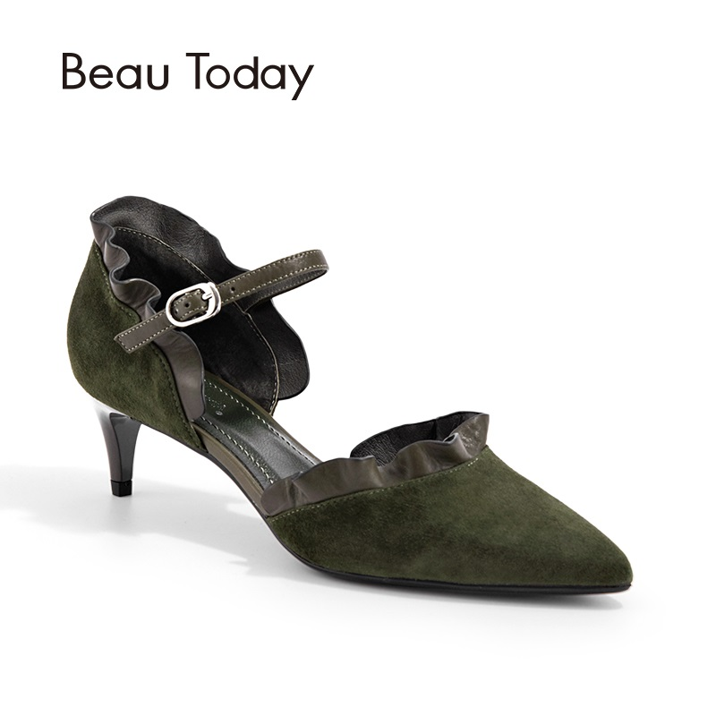 BeauToday Genuine Leather D